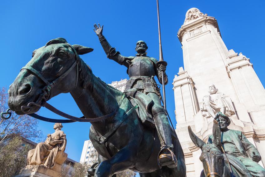 Estudiar español en Madrid, Plaza de España